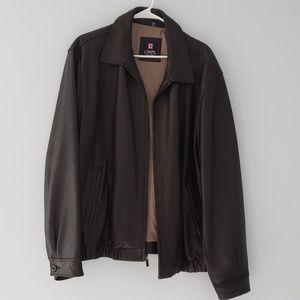 Men's Chaps leather jacket size XXL